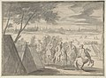Louis XIV at the Siege of Douai, Seen from the South-East (July 1–6, 1667) MET DP802231.jpg