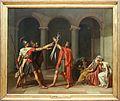Louis david, il giuramento degli orazi, 1784, 01.jpg