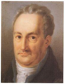 Goethe 1811 (Pastellzeichnung von Louise Seidler) (Quelle: Wikimedia)