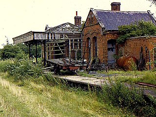 Lowesby railway station Former railway station in Leicestershire, England