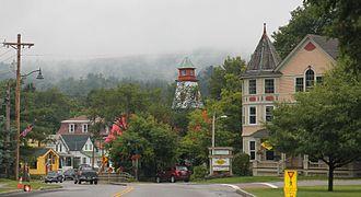 Ludlow (village), Vermont - Downtown in 2014