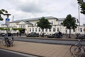 Lüneburg station - Image: Lueneburg Hbf