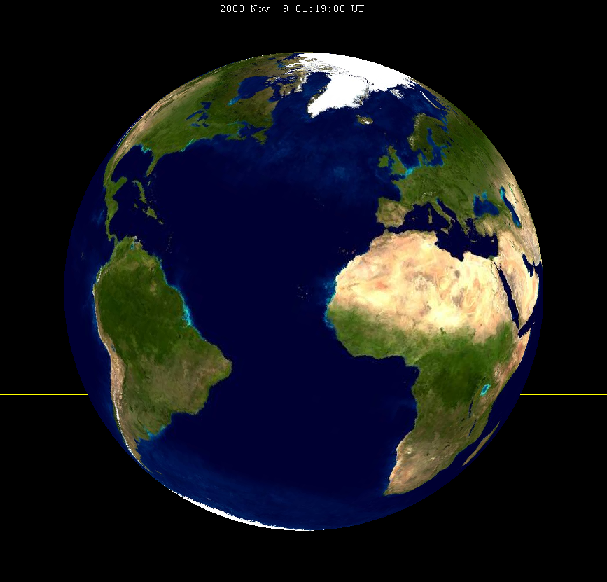 Lunar eclipse from moon-2003Nov09.png