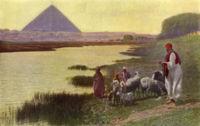 El Nilo en la revista National Geographic, número 31 de 1917.