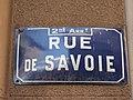 Lyon 2e - Rue de Savoie - Plaque (mars 2019).jpg