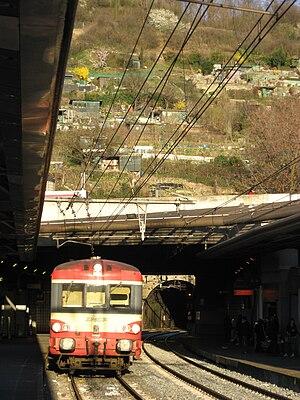 Gare de Lyon-Gorge-de-Loup - Gorge-de-Loup railway station