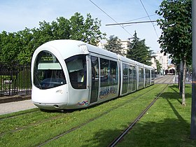 Image illustrative de l 39 article tramway de lyon - Tram t2 lyon ...