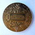 Médaille ARGENT VERMEIL. Horticulture Gironde 1926. Graveur Alphée DUBOIS (1831-1905) (2).JPG