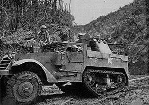 M16 Multiple Gun Motor Carriage - Image: M16 mgmc CAJ19451112 sc 1