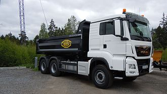 MAN SE - 2016 MAN TGS 26.480 6X4 BL (30S) truck.