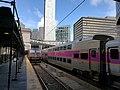 MBTA Commuter Rail trains at South Station.jpg
