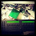 MIDIbox SEQ V4 progress - panels attached, LEDs soldered. Getting there. ...jpg
