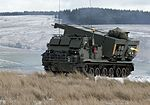 MLRS firing on the ranges at Otterburn. MOD 45158572.jpg