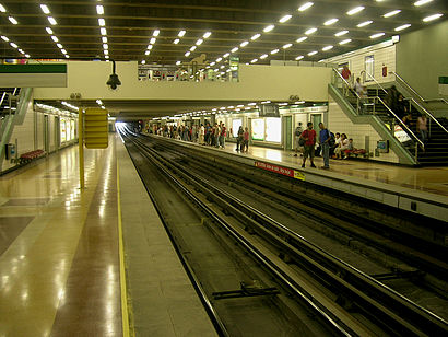 How to get to Bellavista De La Florida with public transit - About the place