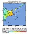 M 7.7 - Hokkaido, Japan region - Shakemap.jpg