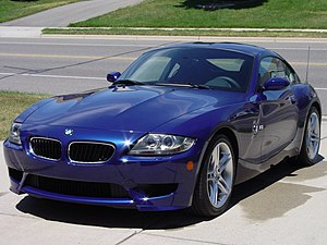 BMW M Coupe - Image: M coupe Interlagos blue