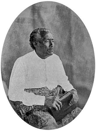 Enele Maʻafu - Photograph of Maʻafu in 1876.