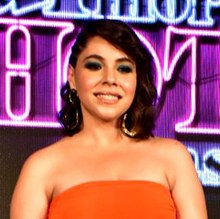 "Maanvi Gagroo (cropped) at the trailer launch of the web series ""Four More Shots Please"".jpg"