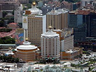 Gambling in Macau - Casino Lisboa