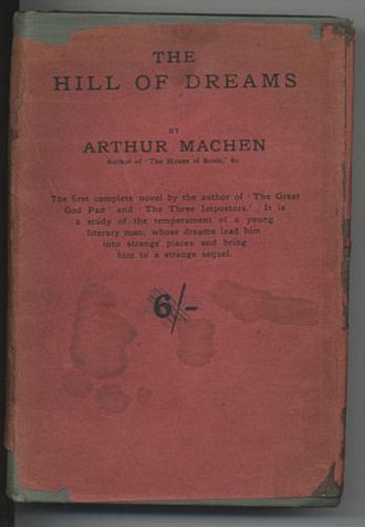 The Hill of Dreams - Cover of first edition