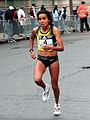 Madai Perez at the 2007 Boston Marathon.jpg