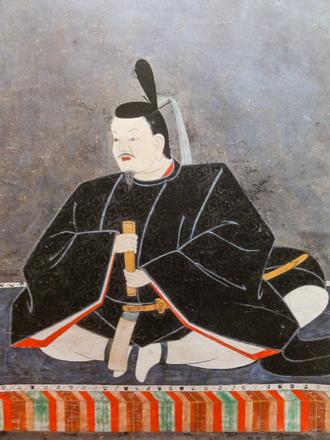 Maeda Toshitsune - Portrait of Maeda Toshitsune