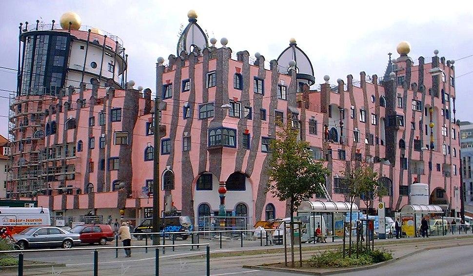 Magdeburg Hundertwasserhaus