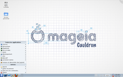 Mageia Beta 1 desktop screenshot