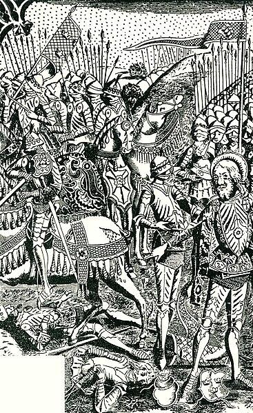 File:Magnus II of Sweden & Eric the Holy of Sweden battle drawing 1719.jpg