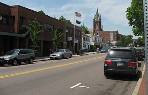 Die Main Street' in Watertown