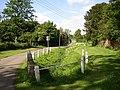 Main Street and stream, Shawell - geograph.org.uk - 453385.jpg