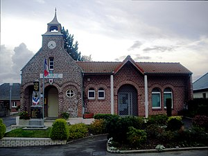 Bénifontaine - The town hall of Bénifontaine