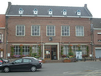 Wormhout - Wormhout town Hall