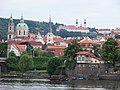 Malá Strana a Strahovský klášter, z Dvořákova nábřeží.jpg