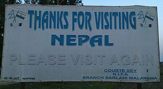 Malangawa - Thanks for visiting Nepal