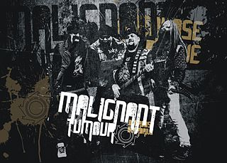 Malignant Tumour Czech music group