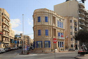 Lombard Bank - Lombard Bank branch at 225, Tower Road in Sliema