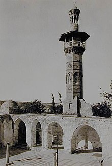 Mamluk minaret of Hama Great Mosque.JPG