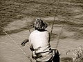 Man with several fishing rods in Burkina Faso, 2009.jpg