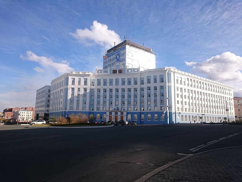 Management of Norilsk Combine, Gvardeyskaya square