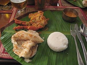 Paratha - Image: Mangaloreparatha