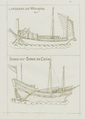 Manuel Godinho de Erédia - Description of Malacca, Meridional India and Cathay - Malayan lanchara and Chinese junk.png