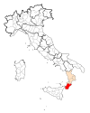 Map Province of Reggio Calabria.svg