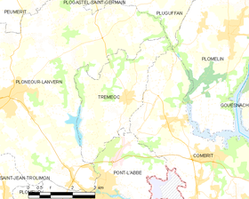 Map commune FR insee code 29296.png