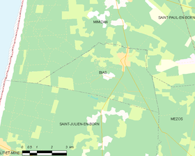 Map commune FR insee code 40043.png