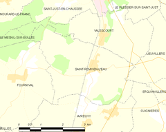 Map commune FR insee code 60595.png