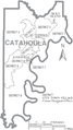 Map of Catahoula Parish Louisiana With Municipal and District Labels.PNG