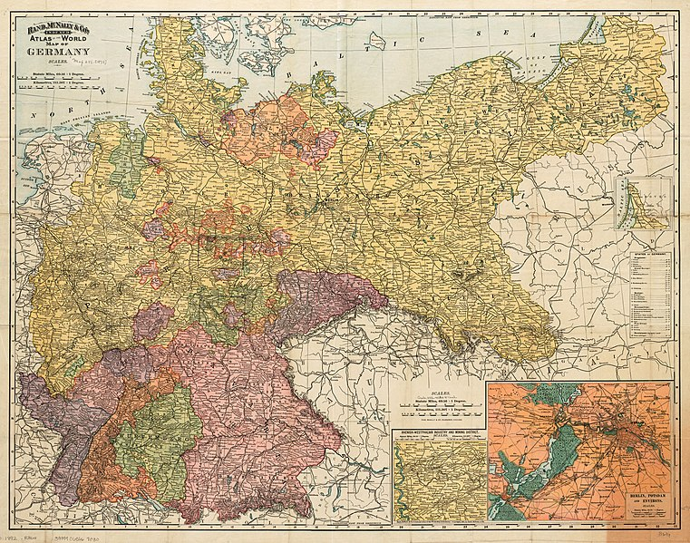 Map Of Germany Jpg.File Map Of Germany 1892 Rand Mcnally And Company Jpg Wikimedia