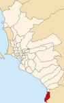 Map of Lima highlighting Pucusana.PNG