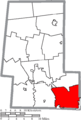 Map of Union County Ohio Highlighting Jerome Township.png